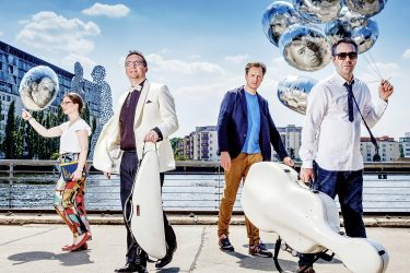 Kuss Quartett Rüdiger Schestag klein - Verein Musikfrende Kiel Webseite